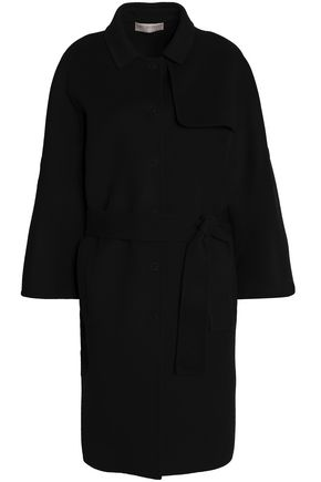 EMILIO PUCCI Brushed wool and cashmere-blend coat