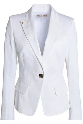 EMILIO PUCCI Cotton-blend twill blazer