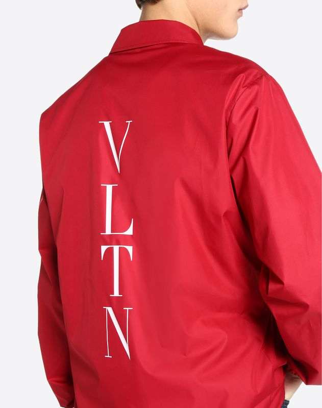 Coach jacket with VLTN print