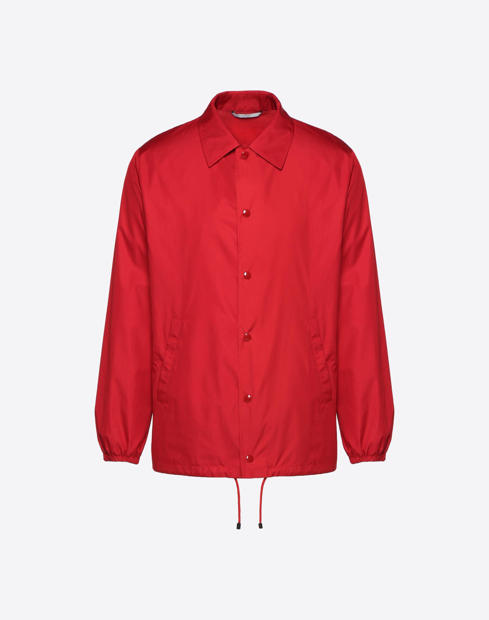 Coach jacket with VLTN print