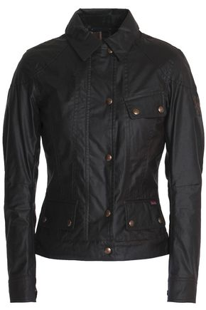 BELSTAFF Paneled coated-cotton jacket