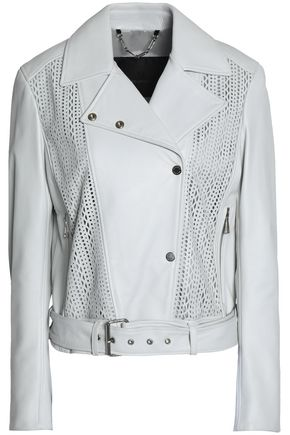 BELSTAFF Laser-cut leather jacket