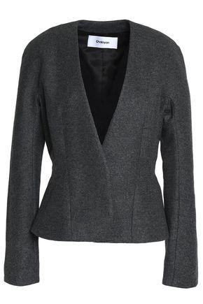 CHALAYAN Wool-blend felt jacket