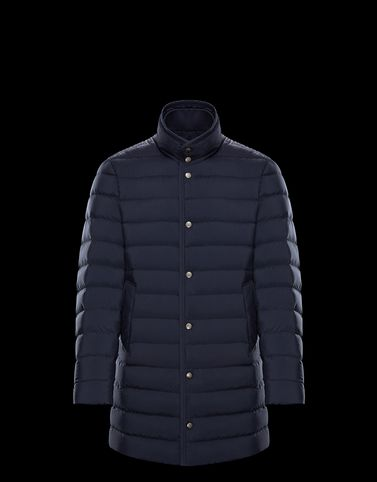 BREUIL Dark blue Down Jackets