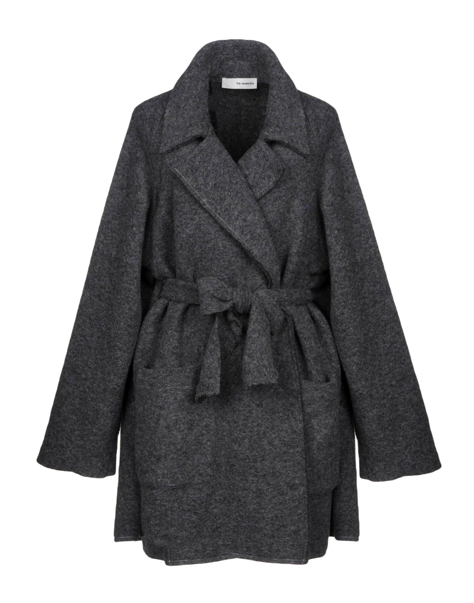 UN-NAMABLE Пальто 11 un dici пиджак