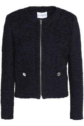 CLAUDIE PIERLOT Bouclé-knit cotton-blend jacket