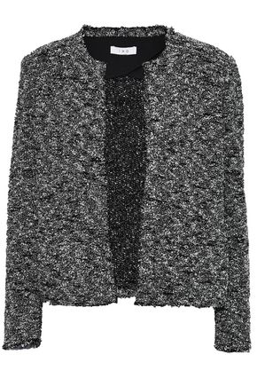 IRO Frayed bouclé-tweed jacket