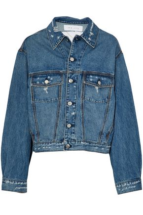 IRO Distressed denim jacket