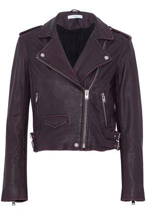 IRO Washed-leather biker jacket