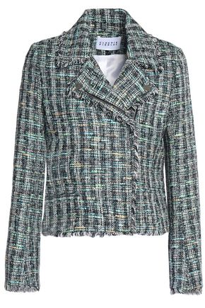 CLAUDIE PIERLOT Cotton-blend tweed jacket