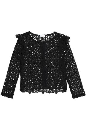CLAUDIE PIERLOT Macramé lace jacket