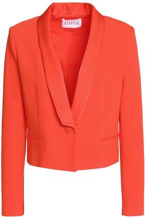 CLAUDIE PIERLOT Valerianne cropped crepe blazer