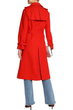 MAJE Cotton-gabardine trench coat