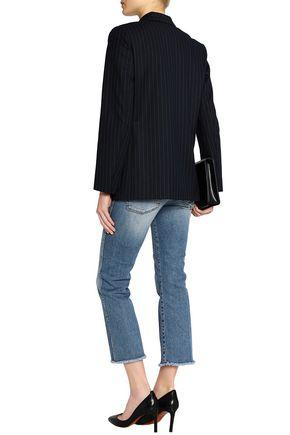 MAJE Pinstriped twill blazer