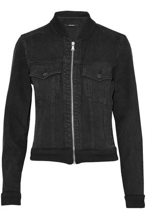 J BRAND Denim bomber jacket