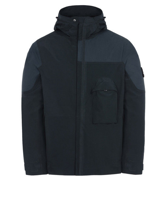 STONE ISLAND ブルゾン 426F1 GHOST PIECE_TANK SHIELD GHOST PIECE FEATURING MULTI LAYER FUSION TECHNOLOGY