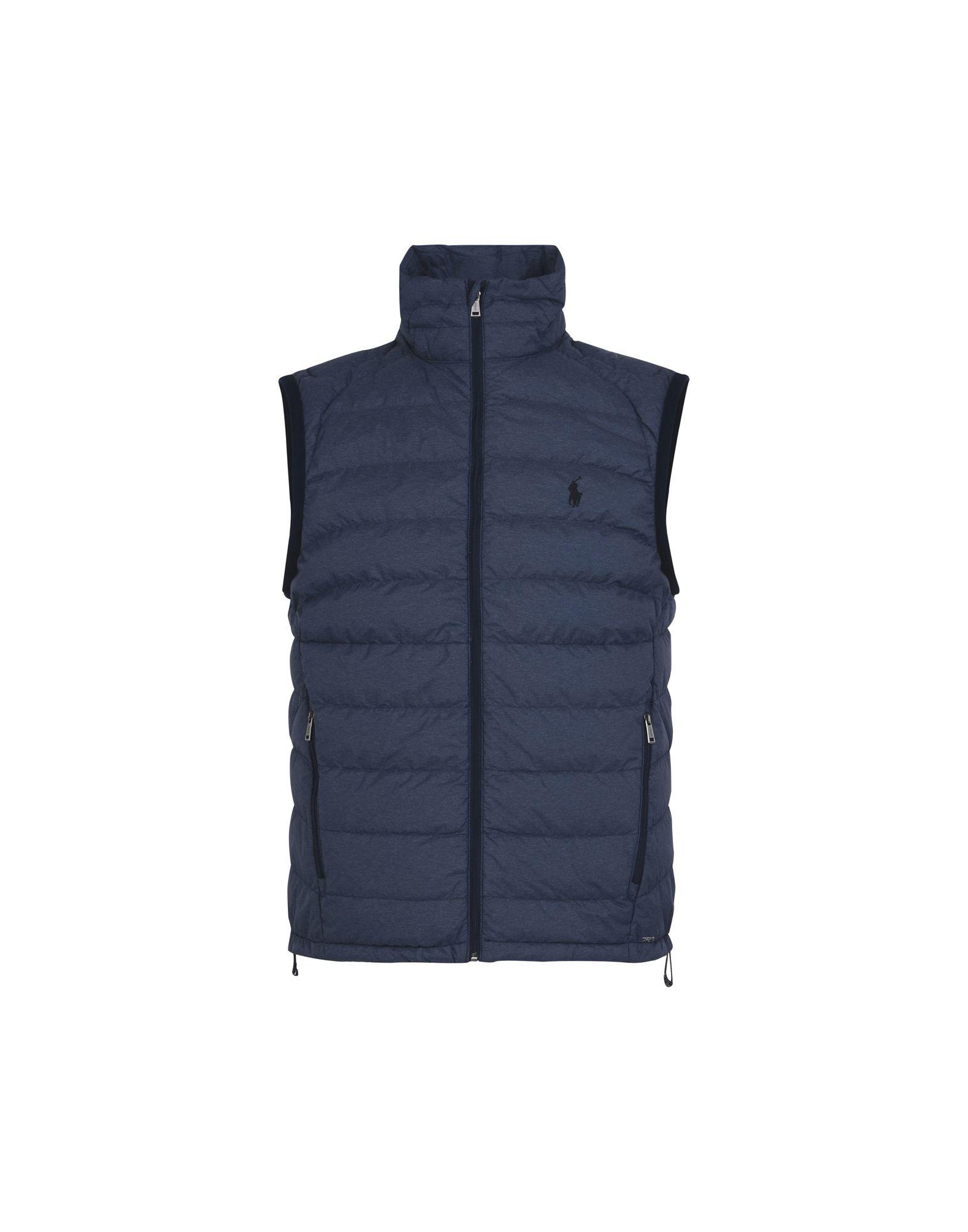 《セール開催中》POLO RALPH LAUREN メンズ ダウンジャケット ダークブルー S ポリエステル 100% Down Vest