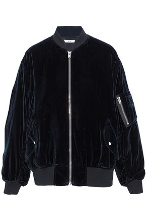 IRO Velvet bomber jacket
