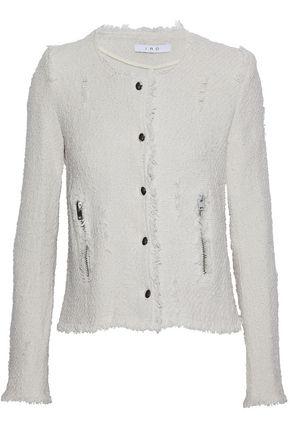 IRO Agnette cotton-bouclé jacket
