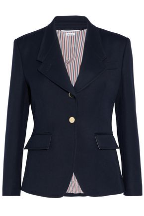 THOM BROWNE Wool-twill blazer