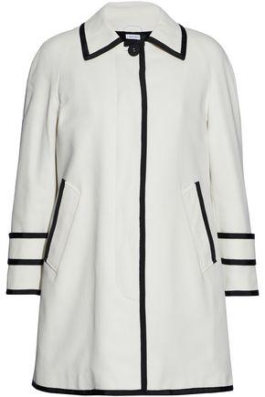 THOM BROWNE Grosgrain-trimmed cotton-cady coat