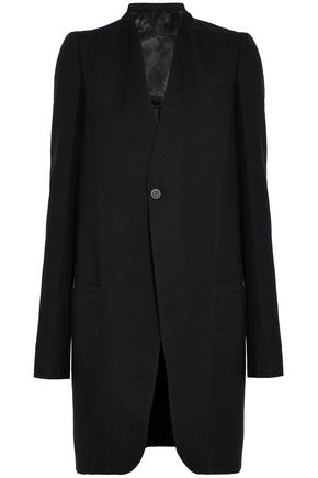 RICK OWENS Wool-twill jacket