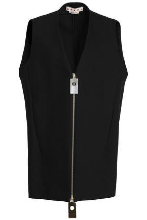 MARNI Stretch-cotton vest