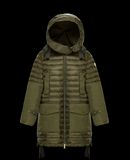MONCLER CYANITE - Long outerwear - women