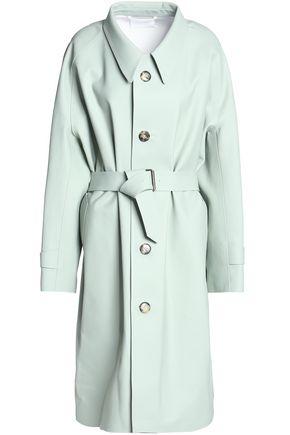 MAISON MARGIELA Belted coated-cotton coat