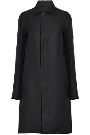 RICK OWENS Gabardine coat