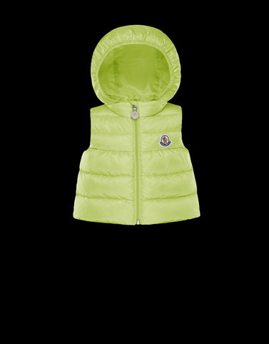 NEW SUZETTE Acid green Category Waistcoats Woman