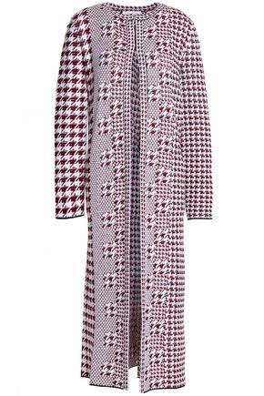 OSCAR DE LA RENTA Mohair-jacquard coat