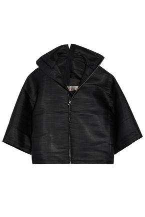 RICK OWENS Coated woven jacket