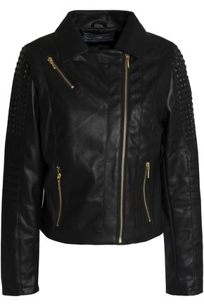 TART COLLECTIONS Faux leather biker jacket