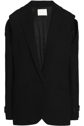 DION LEE Cutout wool blazer