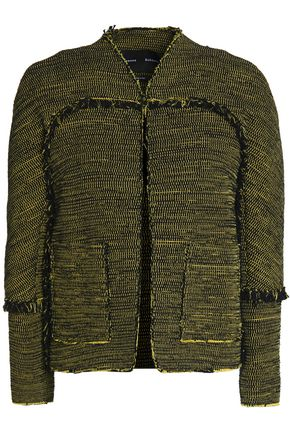 PROENZA SCHOULER Frayed cotton-tweed jacket