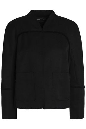 PROENZA SCHOULER Frayed cotton-blend jacquard jacket