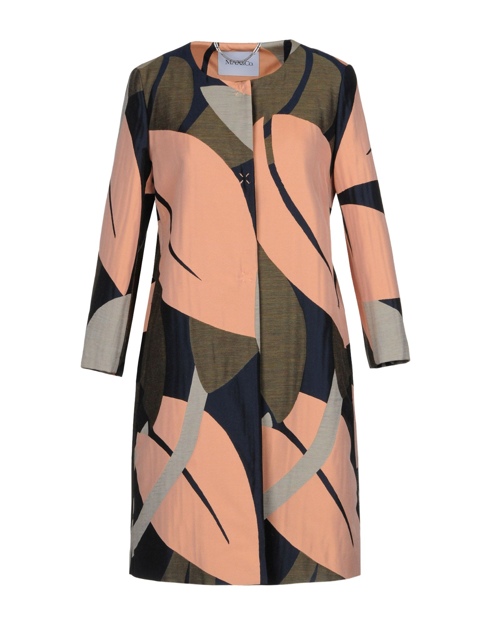 MAX & CO. Легкое пальто пальто max mara пальто длинные