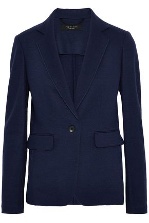 RAG & BONE Club wool-jersey blazer