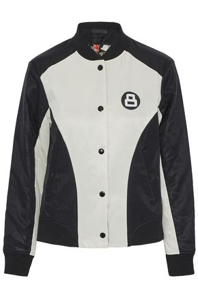 RAG & BONE Reversible appliquéd twill bomber jacket