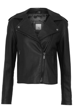 IRIS & INK Blair leather biker jacket