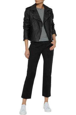 IRIS & INK Blair leather biker jacket