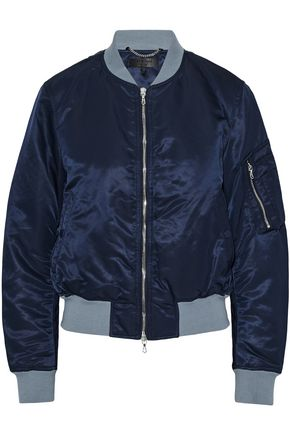 RAG & BONE Two-tone shell bomber jacket