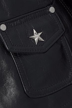 RAG & BONE Schott embellished leather biker jacket