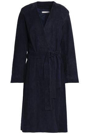 VINCE. Suede coat
