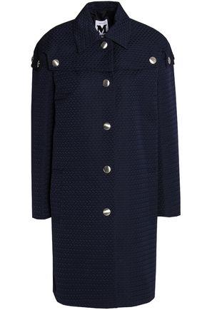 M MISSONI Blue navy jacquard coat