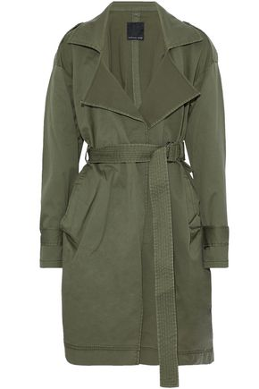 MARISSA WEBB Cotton-blend canvas trench coat