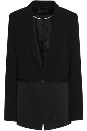 RAG & BONE Satin-crepe jacket