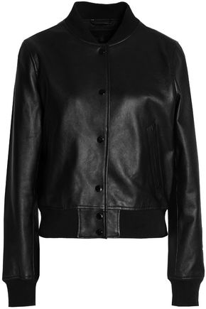 RAG & BONE/JEAN Leather bomber jacket