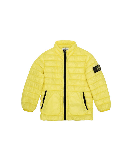 Куртка средней длины  40332 GARMENT DYED MICRO YARN DOWN PROOF   STONE ISLAND JUNIOR - 0